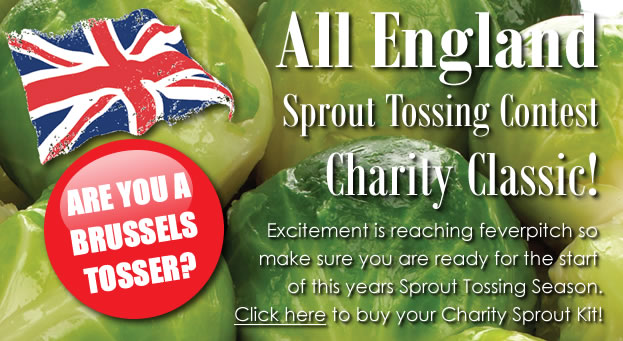 All England Sprout Tossing Contest!