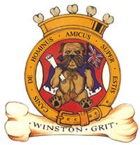 Official Crest of Winston Grit